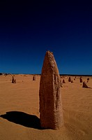 Pinnacles In Desert