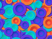 Blue And Orange Circles
