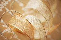 Gold Colored Ribbon