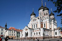 Alexander Newski cathedral, Tallinn, Estonia,