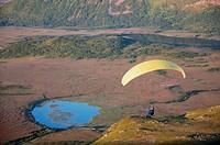 Paragliding Vesteraalen, Norway