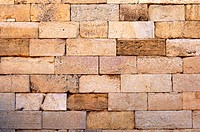 Brickwork, Ruins of the Roman City Leptis Magna, Libya
