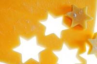 Cookie dough, stars