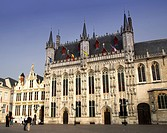 The town hall, Brugges, Flanders, Belgium