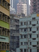 Apartment buildings, Hongkong, China, Asia