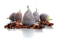 Fig with tea