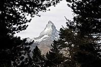 Matterhorn, Zermatt, Valais, Wallis, Switzerland
