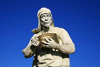 Sculpture, Aparecida do Norte, São Paulo, Brazil