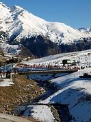Vista general de la estacion de esqui de Formigal