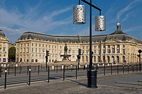 Place de la Bourse, Bordeaux, Gironde, France