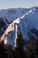 Mt. Ochsenkopf, Karwendel Range, Tirol, Austria, Europe