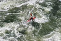 Whitewater rafting tour on the Zambezi River, Victoria Falls, Zambia, Zimbabwe, Africa