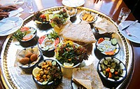 Meze table Jordan