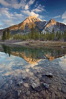 Mt. Lorette and Lorette Ponds, Kananaskis Country, Alberta, Canada