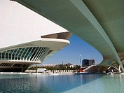 City of Arts and Sciences by S. Calatrava, Valencia. Comunidad Valenciana, Spain
