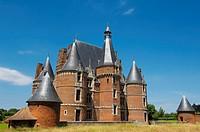 Martainville Castle S. XV(Château de Martainville). Haute_Normandie. Normandy. France