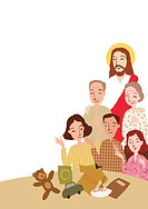 Christian Image, Jesus And Believer (thumbnail)