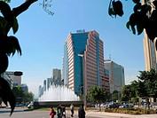 Paseo de la Reforma. Ciudad de México.