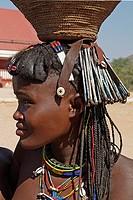 Macawana girl, Oncocua area, Cunene province, Angola