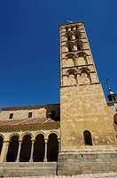 Church of San Esteban, Segovia, Castile-Leon, Spain
