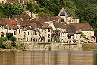 La Roque-Gageac. Dordogne, Aquitaine, France
