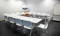 Meeting room, offices, AZTI-Tecnalia, Technology Centre for Marine and Food Research, Derio, Biscay, Basque Country, Spain