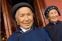 Bai women, Dali, Yunnan province, China