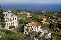 Karies,the capital of Mount Athos,konakia,house, where the representatives from each monastery live,Athos Peninsula,Mount Athos,Chalkidiki,Halkidiki,M...
