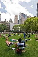 giardino pubblico nel cuore della grande mela, manhattan, new york city, usa, america