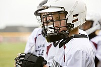 Junior lacrosse players