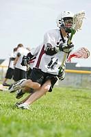 Junior lacrosse players