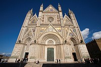 europe, italy, umbria, orvieto, cathedral
