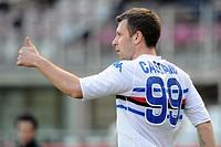 antonio cassano, torino 2009. serie a football championship 2008_2009, torino_sampdoria