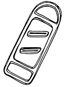 A black and white illustration of a grater (thumbnail)
