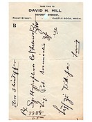 A vintage handwritten medical prescription