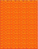 An orange canvas textured pattern