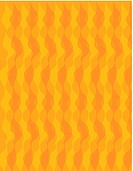 An orange wavy geometric pattern illustration
