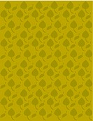 Retro green leaves on an olive background (thumbnail)