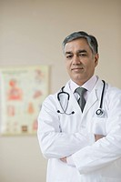 Doctor in a hospital, Gurgaon, Haryana, India