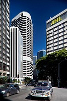Skyscrapers along Queen St , Brisbane, Queensland, Australia, 2008