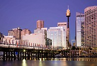 Sydney Harbour, city skyline, Sydney, New South Wales, Australia, 2008