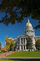 USA, Colorado, Denver, State Capitol Building