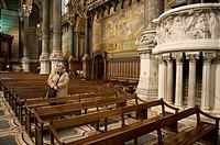 Abadia de Fourviere. Lyon. Rhone Alpes, Francia.