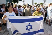 Florida, Miami Beach, Holocaust Memorial, Israel Solidarity Rally, Jews, Jewish state, Zionism, religion, tradition, heritage, Black, woman, women, cr...