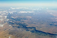 Highlands of Namibia, aerial view