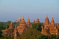 Field of pagodas of Bagan, Myanmar