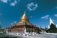 Myanmar _ Surroundings of Pagan _ Shwezigon Pagoda