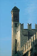 Italy - Trentino Region - Trento - Cathedral of St. Vigilio, tower