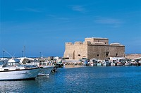 Cyprus - Paphos (Pafos). Medieval fort and harbour