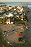View from above the Lighthouse  La Paloma, Rocha, Uruguay